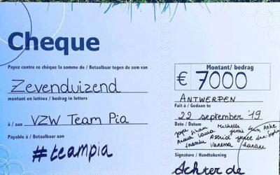 Wij steunen #teampia